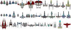 Star Wars Universe Fighters by kavinveldar.deviantart.com on @deviantART