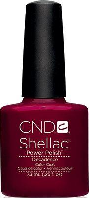Cnd Shellac UV Gel Decadence