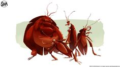 """Roaches"" by Sergio Pablos."