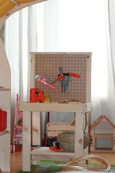 """I want to make this!  DIY Furniture Plan from Ana-White.com  For American Girl or 18"""" Doll, make a storage cabinet or armoire with star cutout. Free plans."""