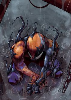 Symbiote by ~escar on deviantART