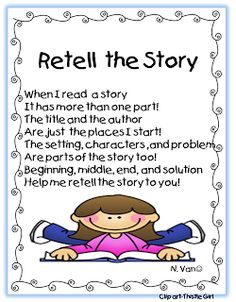 First Grade Wow: Retelling Stories