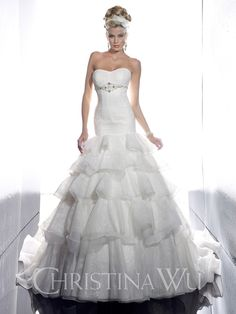 Christina Wu Bridal Collections 2013 Reflect Season's Hottest Trends - Fashion Diva Design