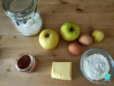 Tarta de manzana en sartén - ¡FÁCIL y SIN HORNO! Cookie Desserts, No Bake Desserts, Sin Gluten, Popsicles, Deli, Mango, Deserts, Food And Drink, Banana