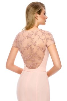 Splendor in pink - OLESA evening dress by Athena Philip >>> www. Glamorous Evening Dresses, Luxury Dress, Glamour, Elegant, Pink, Color, Shopping, Collection