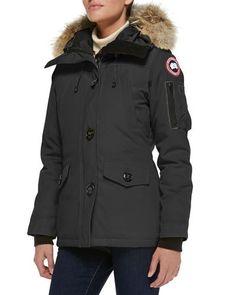 CANADA GOOSE Montebello Parka With Fur Hood. #canadagoose #cloth #