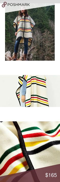 PENDELTON GLACIER PARK PONCHO NEW Brand new line they inside label only to prevent store returns Urban Outfitters Jackets & Coats Capes