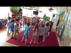 """Taniec bujaniec""(J. Rosas) -pląs dla dzieci Zumba, Early Childhood, Crafts For Kids, Kindergarten, Activities, Youtube, Music Education Activities, Parents, Kindergartens"