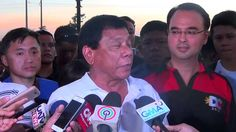 Duterte to Roxas: You can't build a nation