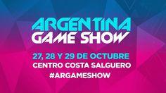 Argentina Game Show 2017 anuncia su venta de entradas #ArGameShow   El festival de videojuegos y tecnología más importante del país vuelve con su tercera edición y ya podés sacar tus entradas desde ticketek con precios exclusivos.  Los próximos 27 28 y 29 de octubre en Centro Costa Salguero vivirás el evento más esperado del año. A través del sitio web remasterizado http://ift.tt/1WXmfnK conocé todas las novedades y el contenido más importante. Te trae lo último en videojuegos para poder…