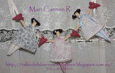 Tutorial guirnalda muñecas Tilda El blog de Mari Carmen (Patchwork, tilda y más labores)