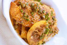 Χοιρινό πικάτα με σάλτσα λεμονιού Cheesesteak, Chicken Wings, Meat, Ethnic Recipes, Food, Kids, Beef, Toddlers, Boys