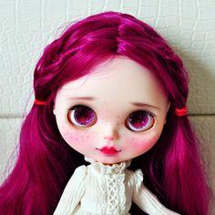 OOAK custom blythe doll (Display Only)
