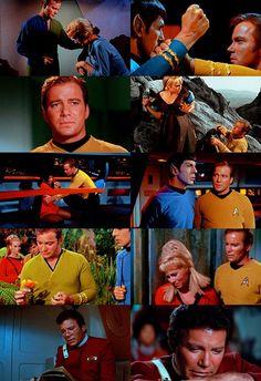 Captain James Tiberius Kirk (W.Shatner