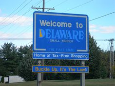 Delaware.  Tiniest state I have ever been too...very beautiful drive along the coast!