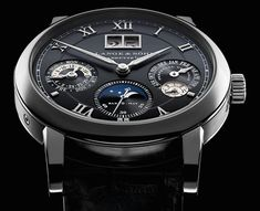 The A. Lange & Söhne Langematik Perpetual watch and all about its beautiful technical achievements.