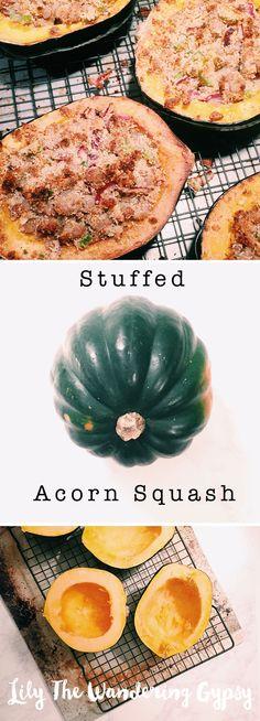 Stuffed Acorn Squash! YUM!!!