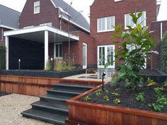 Garden Design Plans, Deck, Backyard, Mansions, House Styles, Outdoor Decor, Plants, Home Decor, Patio