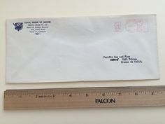 """Item: fc_19570621_3 Business cover approx. 4""""x 9 ½"""" Condition: very good, yellowing due to age and some minor crease  Loyal Order of Moose Fresno Lodge No. 445 Robert G. Sunday, Secretary 185 Fulton Street Fresno 21, California  Postage Meter: FRESNO JUN 21'57 CALIF. P.B. METER 239156 U.S.POSTAGE 03 Slogan Cancel GIVE! CALIF. Bldg FUND  Addressee: Pacific Gas & Electric 1401 Fulton  Fresno 21 Calif."""
