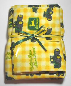 John Deere Fitted Crib or Toddler Bed Sheet with by KidsSheets, $34.99