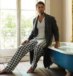 Dote Men's Checked Flannel Pyjama Pants