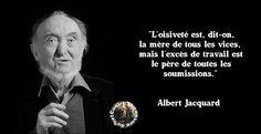 """Résultat de recherche d'images pour """"l'oisiveté albert jacquard"""""""