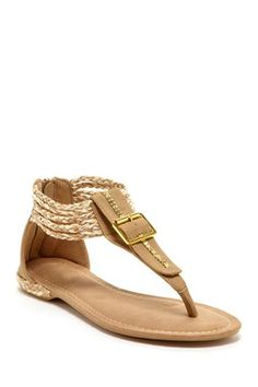 HauteLook | Sandals: Elegant Footwear Kimly Braided Buckle Sandal