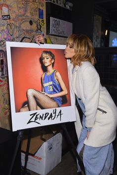 Zendaya at her fan event in NYC 2/26/16