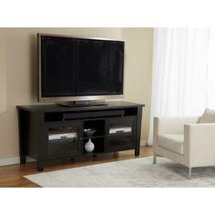 Modern 70-inch TV Cabinet with soundbar shelf | Overstock.com