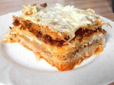 Erdélyi rakott káposzta recept Delicious Dinner Recipes, Good Healthy Recipes, Meat Recipes, Cooking Recipes, Recipies, Hungarian Recipes, Hungarian Food, One Pot Meals, Pasta Dishes