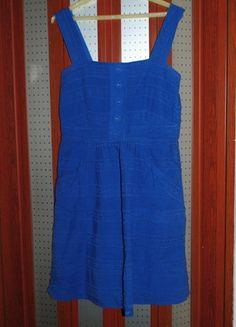 Kup mój przedmiot na #vintedpl http://www.vinted.pl/damska-odziez/inne/11210092-piekna-niebieska-oryginalna-sukienka-na-ramiaczkach-z-wycietymi-plecami