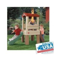 Toddlers Outdoor Playset Treehouse Backyard Indoor Playground Indoor Climber  #Step2LookOut