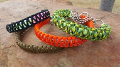 Martingale Chain Paracord Dog Collar by ClubSavage on Etsy