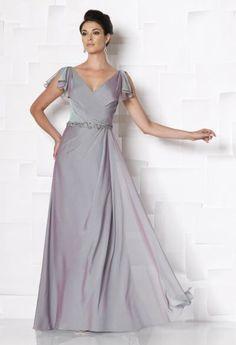 Mon Cheri Cameron Blake by Mon Cheri - 113619W Long Dress In Purple Haze  Mothers Dresses b7f9e5bfa7a