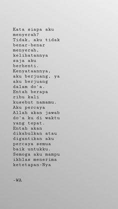 Quotes Rindu, Short Quotes, Book Quotes, Qoutes, Reminder Quotes, Self Reminder, Quotes Galau, Quotes Indonesia, Quote Aesthetic