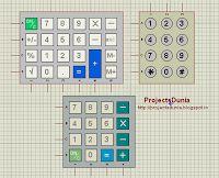 types of keypad matrix