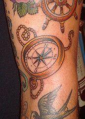 compass tattoo again!