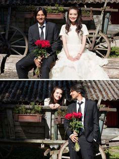 Asian celebrities, Shu Qi (舒淇) and Feng De Lun (冯德伦) got married!