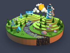 low_poly_campland_large