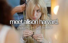 Meet Allison Harvard.