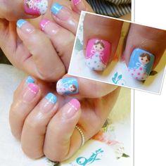 Russian dolls #nails #nailsg #nailart #nailmax #nailwow #nailporn #nailswag #nailmania #nailqueen #nailsalon #nailtrend #nailaddict #naildesign #nailstagram #nailsingapore #igsg #igers #igdaily #instapic #instadiary #instanails #dollhousesg #dollhousenails #manicure #gel #gelish #gelnails
