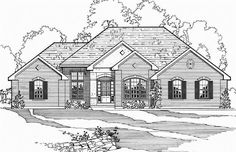 Traditional House Plan 74910
