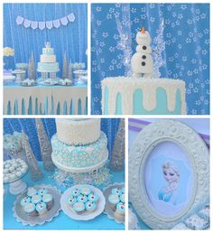 Frozen Birthday Party via Kara's Party Ideas KarasPartyIdeas.com Desserts, supplies, favors, stationery, tutorials, recipes, and more! #frozen #frozenparty (2)