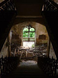 Abandoned Castle of Mesen Belgium by Natascha Mattens