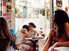 Rio de Janeiro - Colonia café At Bar do Mineiro, in Rio's eclectic Santa Teresa neighborhood.