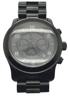 2da5d110f204 Michael Kors Runway MK8157 Stainless Steel Quartz 45mm Mens Watch
