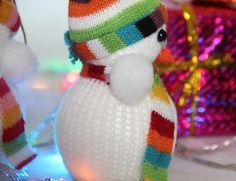 Christmas Tree Bow Decoration Exclusive X'masTree Decoratio Snowman Doll Gift