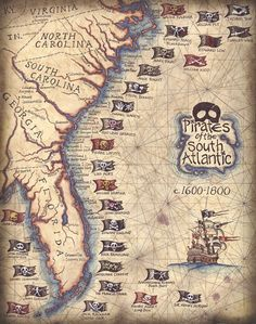 Wow - there were a lot of pirates that came before Johnny Depp.   ~~ Houston Foodlovers Book Club