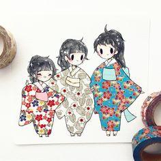 17.6 тыс. отметок «Нравится», 33 комментариев — ✨theresa ✨ (@birduyen) в Instagram: «#washitape commission for megan and her adorable sisters ^o^!! if you order a washi tape commission…»