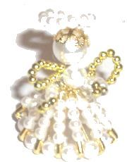 Image for Beaded Angel DIY Craft Project